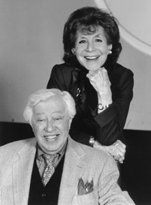 Betty Comden and Adolph Green