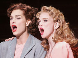Brooke Shields and Jennifer Hope Willsin Wonderful Town(Photo © Paul Kolnik)