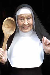 Betty Garrett in Nunsense