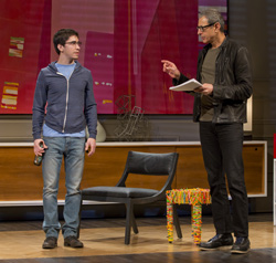Justin Long and Jeff Goldblum in Seminar