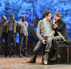 Matt D'Amico, Rick Holmes, Isaiah Johnson,