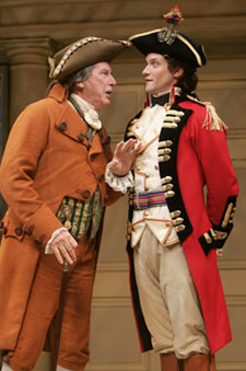 Richard Easton and Matt Letscherin The Rivals(Photo © Joan Marcus)