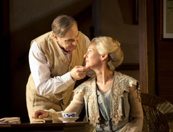 David Suchet and Laurie Metcalf in