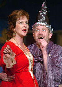 Milissa Carey and Michael Croninin Once Upon a Mattress(Photo © David Allen)