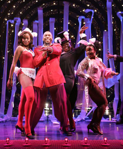 Jeanette Bayardelle, Richard E. Waits, Ronnell Bey,and Kenita R. Miller in Best of Both Worlds