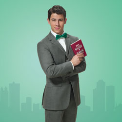 Nick Jonas stars in How to Succeed in Business Without Really Trying