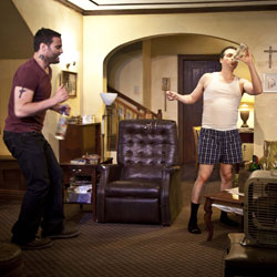 Dominic Fumusa and Kevin Corrigan in Ninth and Joanie (© Kate Edwards)