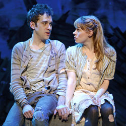 Adam Chanler-Berat and Celia Keenan-Bolger