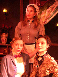 Melissa Hall, Wendi Berman,and Diana E.H. Shortes in Boston Marriage