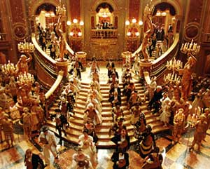 A scene from The Phantom of the Opera