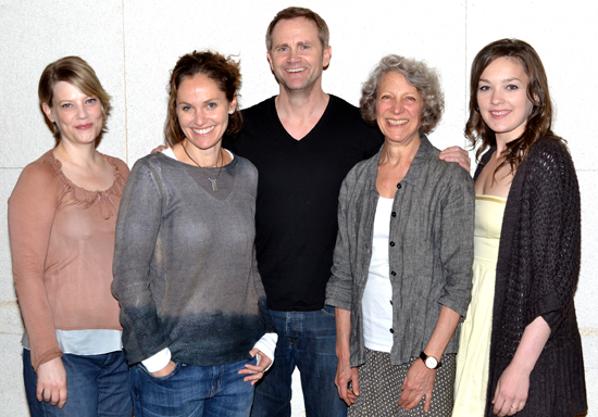 Kellie Overbey, Amy Brenneman, Lee Tergesen, Beth Dixon, Virginia Kull