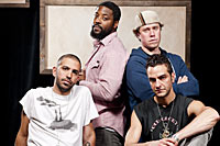 The cast of Othello: The Remix (Courtesy Chicago Shakespeare)