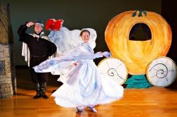 A scene from Happily Ever After…A Cinderella Tale
