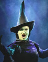 Idina Menzel in Wicked(Photo © Joan Marcus)
