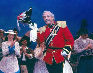 Hal Linden in The Pirates of Penzance(Photo © Lee Snider)