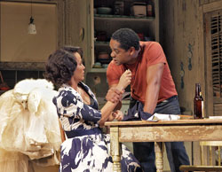 Nicole Ari Parker and Blair Underwood