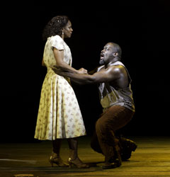 Audra McDonald and Phillip Boykin in The Gershwins' Porgy and Bess (© Michael J. Lutch)