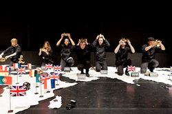 A scene from A History of Everything (Photo courtesy of the company)