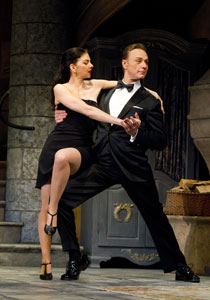 Ben Daniels and Spencer Kayden