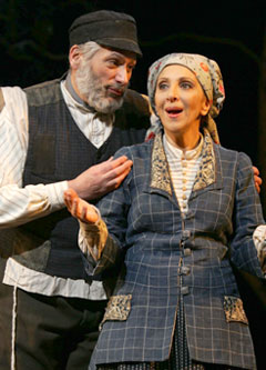 Harvey Fierstein and Andrea Martin inFiddler on the Roof(Photo © Carol Rosegg)