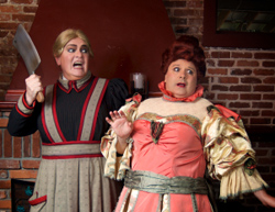 Mark Chambers and Brad DePlanche  in The Mystery of Irma Vep