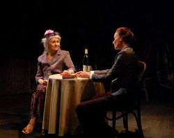 Lynn Cohen and Stephanie Roth Haberle in Eavesdropping on Dreams (© Francisco Solorzano)