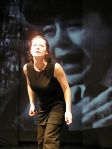 Geraldine Hughes in Belfast Blues(Photo © Jonathan Christman)