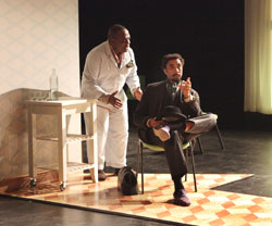 Greig Sargeant and Edward O'Blenis