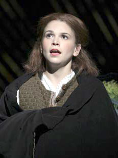 Sutton Foster in Little Women(Photo © Paul Kolnik)