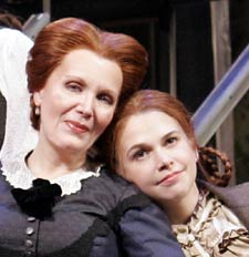 Maureen McGovern and Sutton Fosterin Little Women(Photo © Paul Kolnik)