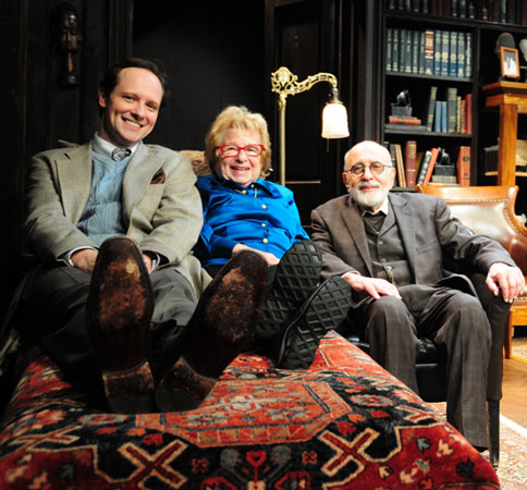 Jim Stanek, Dr. Ruth, and George Morfogen