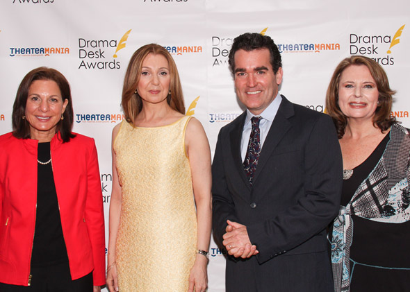 Isa Goldberg, Donna Murphy, Brian d'Arcy James, and Randie Levine Miller