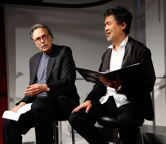 Arthur Kopit and David Henry Hwang