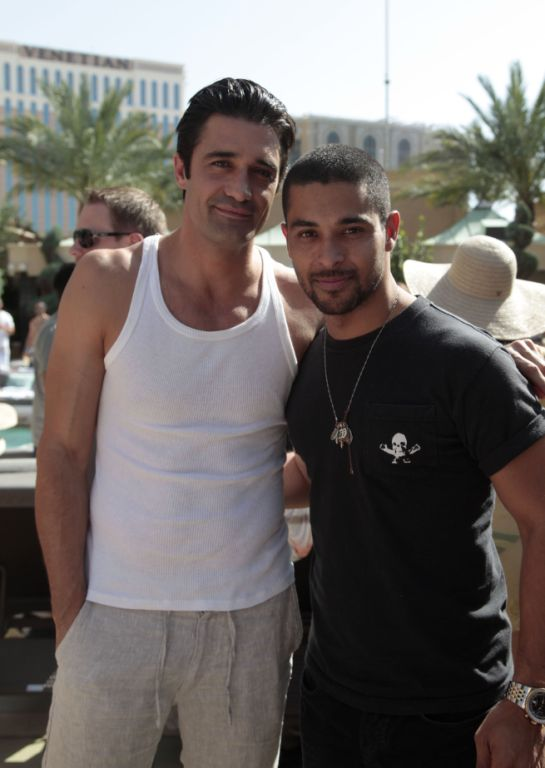Gilles Marini and Wilmer Valderamma