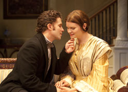 Steve Coombs and Heather Tom
