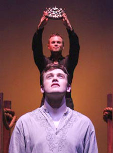 Sam Harris and Michael Arden in Pippin(Photo © Michael Lamont)