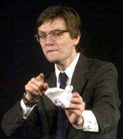 James Urbaniak in Thom Pain (based on nothing)