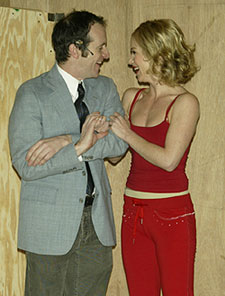 Denis O'Hare and Christina Applegate(Photo © Joseph Marzullo)