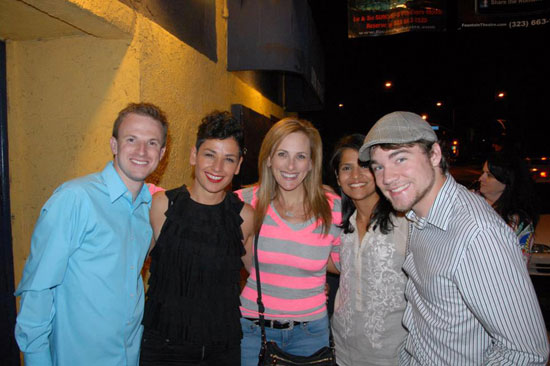 Eddie Buck, Ipek D. Mehlum, Marlee Matlin, Maleni Chaitoo, and Daniel Durant