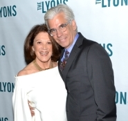 Linda Lavin and Steve Bakunas