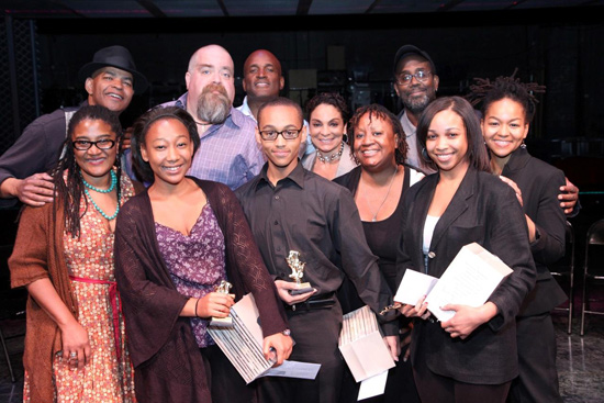 Guy Davis, David Gallo, Kenny Leon, Jasmine Guy, James A. Williams, Lynn Nottage, Tyler Edwards, Christian Helem, Hilda Willis, Saidah Wade, and Crystal Dickinson