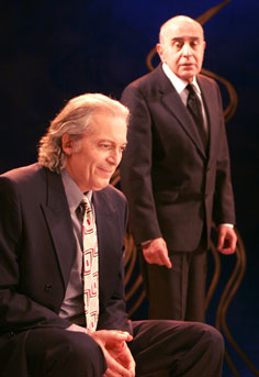 Ronald Guttman and George Morfogenin The Lonely Way(Photo © Rahav Segev)