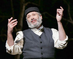Harvey Fierstein in Fiddler on the Roof(Photo © Carol Rosegg)
