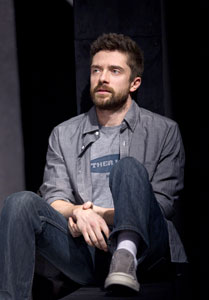 Topher Grace in Lonely I'm Not (© Joan Marcus)