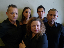 Sean San Jose, Sabina Zuniga Varela, Wilma Bonet, Armando Rodriguez, and Carlos Aguirre