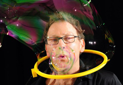 The Amazing Bubble Man