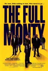 Movie poster for The Full Monty