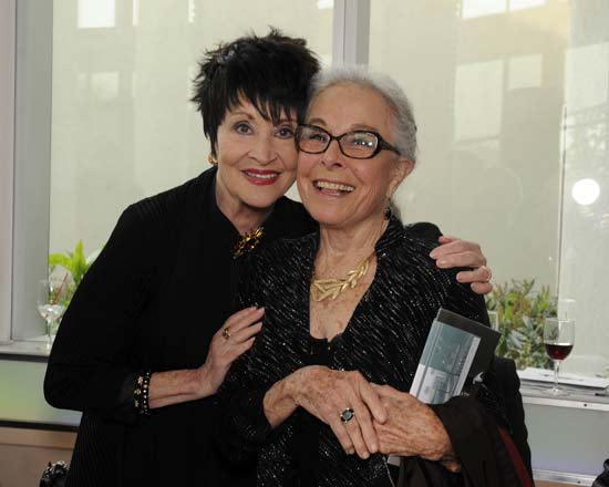 Chita Rivera and Marge Champion