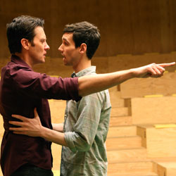 Jason Butler Harner and Cory Michael Smith