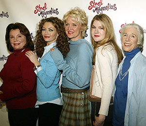 Marsha Mason, Rebecca Gayheart, Christine Ebersole,Lily Rabe, and Frances Sternhagen(Photo &copy; Joseph Marzullo)